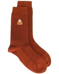 Мужские красные носки от Folk
