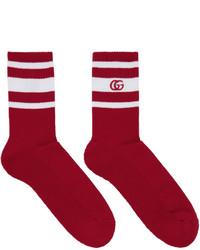 Мужские красные носки от Gucci