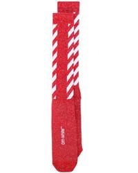 Женские красные носки от Off-White