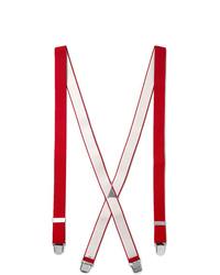 Красные подтяжки от Charvet