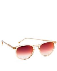 Женские красные солнцезащитные очки от Garrett Leight