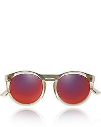 Женские красные солнцезащитные очки от Le Specs