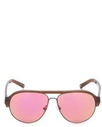 Женские красные солнцезащитные очки от Linda Farrow Gallery