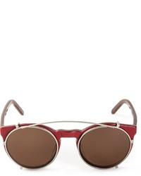 Женские красные солнцезащитные очки от Selima