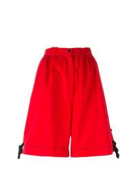 Женские красные шорты-бермуды от Thierry Mugler Vintage