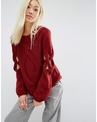 вязаный свитер medium 814252