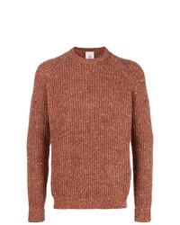 Мужской красный вязаный свитер от Eleventy