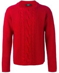 Мужской красный вязаный свитер от Ports 1961