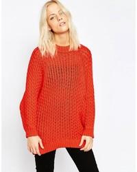 свободный свитер medium 469450