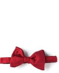 Мужской красный галстук-бабочка от Lanvin