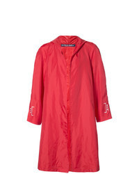 Красный дождевик