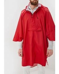 Мужской красный дождевик от United Colors of Benetton