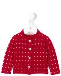 Детский красный кардиган для девочке