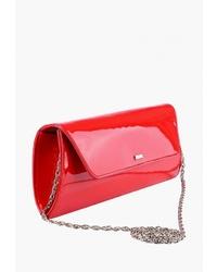 Красный кожаный клатч от Esse