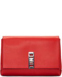 Красный кожаный клатч от Proenza Schouler