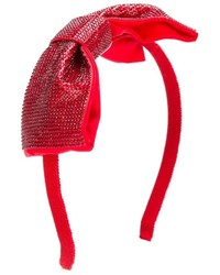 Детский красный ободок/повязка для девочке от Simonetta
