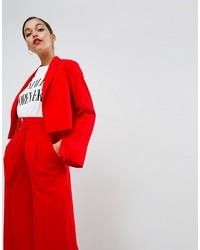 Женский красный пиджак от Asos