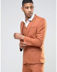 Мужской красный пиджак от Asos