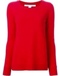 красный свитер с круглым вырезом original 1328991