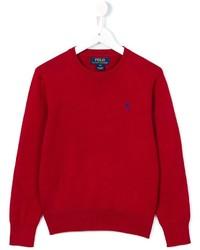 Детский красный свитер для мальчику от Ralph Lauren