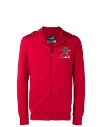 Мужской красный спортивный костюм от Plein Sport