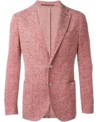 Красный твидовый пиджак