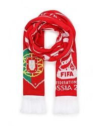 Мужской красный шарф от adidas Performance