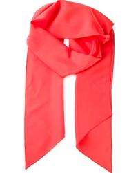 Женский красный шарф от Lanvin