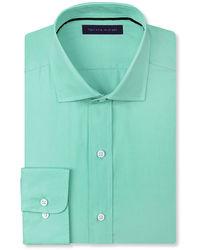 Мятная классическая рубашка