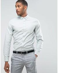 Мужская мятная классическая рубашка от Asos