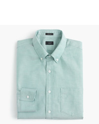 Мужская мятная классическая рубашка от J.Crew
