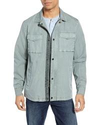 Мятная куртка-рубашка