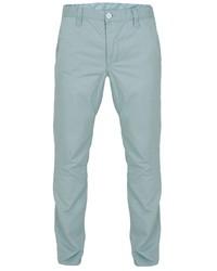 Мужские мятные брюки чинос от Oodji