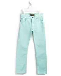 Мятные джинсы
