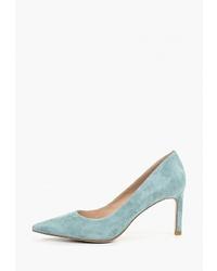 Мятные замшевые туфли от Vitacci