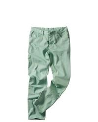 мятные зауженные джинсы original 4566084