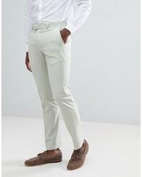 Мужские мятные классические брюки от Farah Smart