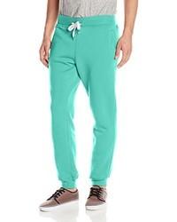 Мятные спортивные штаны