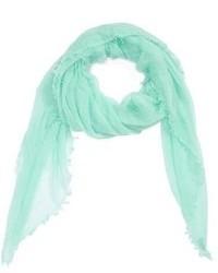 Мятный шарф