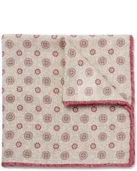 Нагрудный платок с принтом