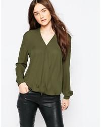 блузка с длинным рукавом medium 360728