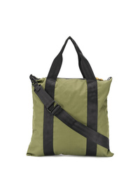 Мужская оливковая большая сумка из плотной ткани от Bellerose