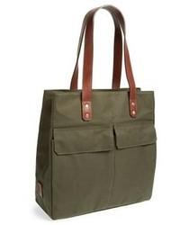 Оливковая большая сумка