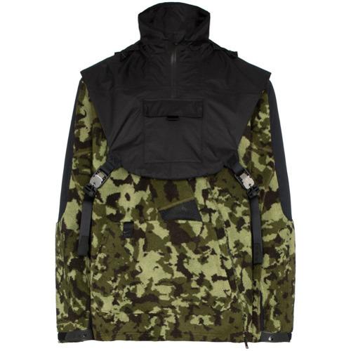 ff82100f Мужская оливковая ветровка с камуфляжным принтом от Nike, 40 122 руб ...