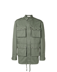 Мужская оливковая куртка в стиле милитари от Faith Connexion