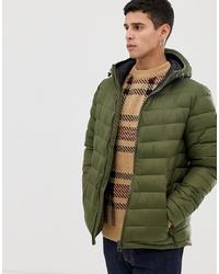 Мужская оливковая куртка-пуховик от Esprit