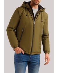 Мужская оливковая куртка-пуховик от FiNN FLARE