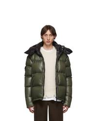 Мужская оливковая куртка-пуховик от Kanuk