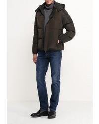 Мужская оливковая куртка-пуховик от Mythic