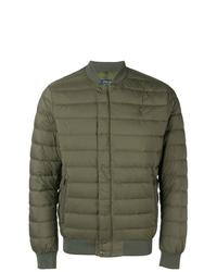 Мужская оливковая куртка-пуховик от Polo Ralph Lauren